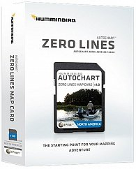 Карта Sd Autochart ZeroLine Europe для эхолотов