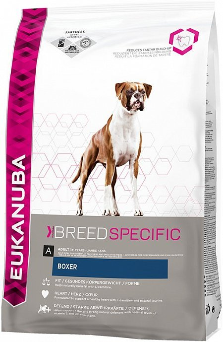 Сухой корм Eukanuba Breed Nutrition (DNA) Боксер